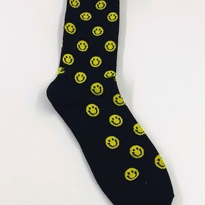 Unisex smiley face socks